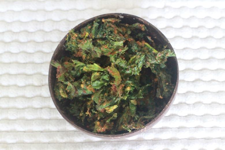 kaleandbittergourdfries (2)